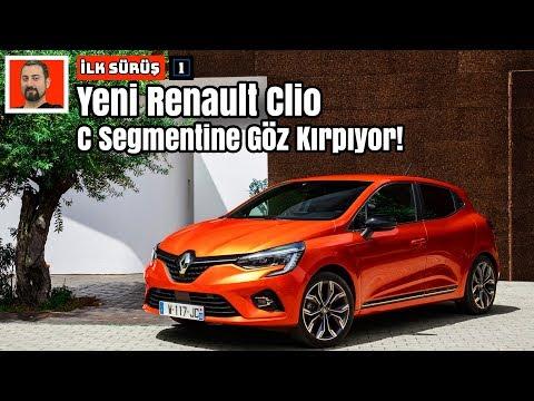 2019 Yeni Renault Clio | C Segmentine Göz Kırpıyor! | İlk Sürüş