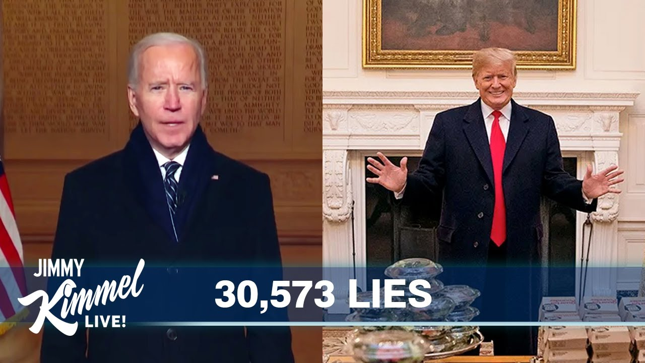 Biden Inherits the Mess of a Lying Madman