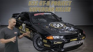 Good Bye Project Budget Supercar R32 GT-R -  Hello Project Supercar Killer