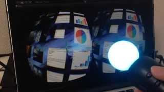 2014/3/8 Oculus Festival in Japan @お台場出張版 にて展示した作品で...