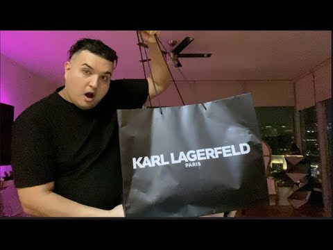 KARL LAGERFELD PARIS HAUL
