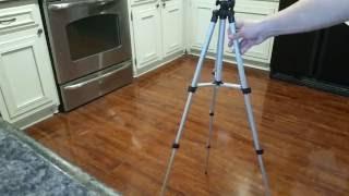 Digiant 50 Inch Aluminum Camera Tripod +  Smartphone Mount