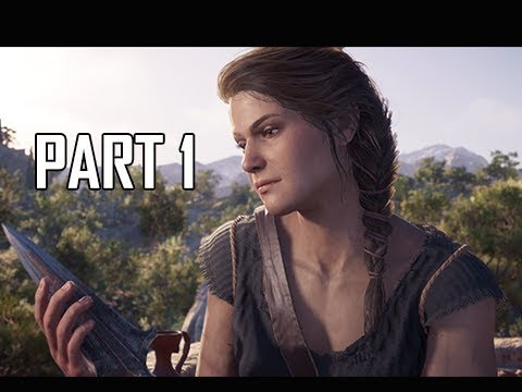 ASSASSINS CREED ODYSSEY Walkthrough Part 1 - FIRST 2 HOURS!!! (Lets Play Commentary)