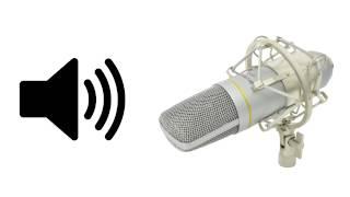 Zvukový test studiového kondenzátorového mikrofonu Citronic CCU2 USB