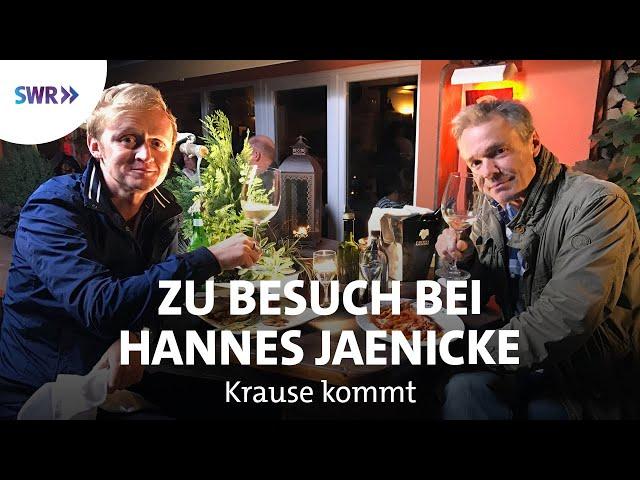 Zu Besuch bei Hannes Jaenicke | SWR Krause kommt