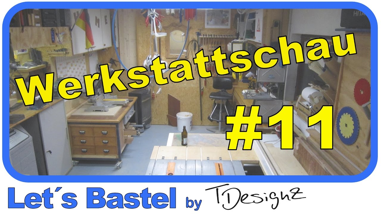 werkstattschau 11 werkstatttour ideen f r werkstatt einrichten youtube. Black Bedroom Furniture Sets. Home Design Ideas
