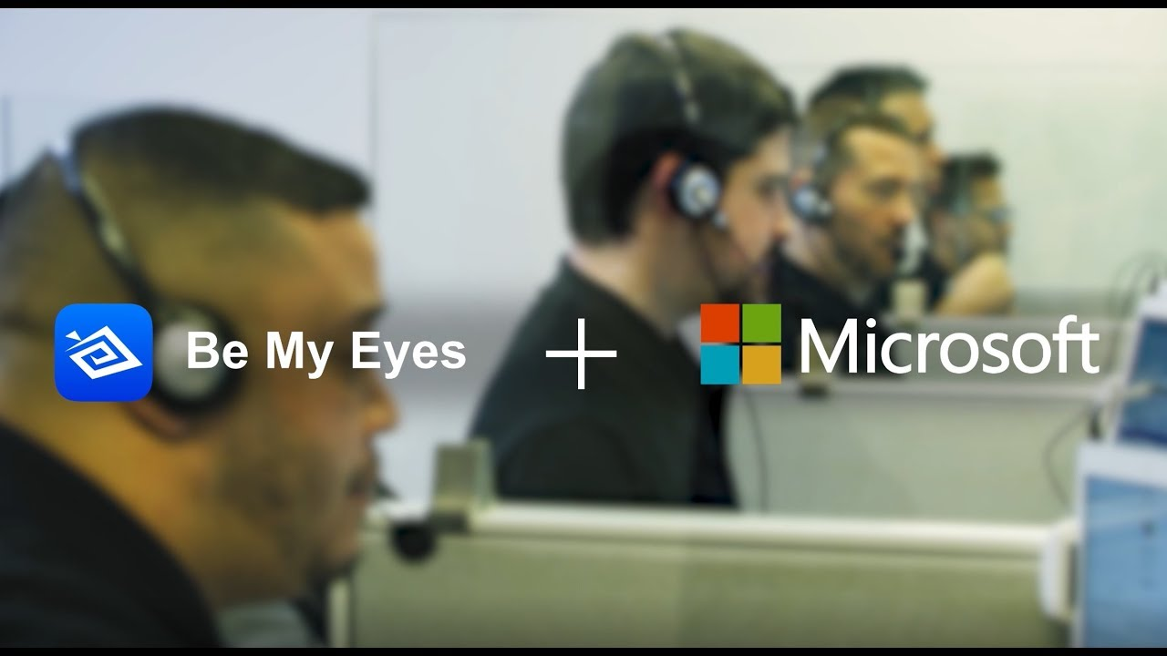 Be My Eyes + Microsoft Disability Answer Desk (audio Described Version)