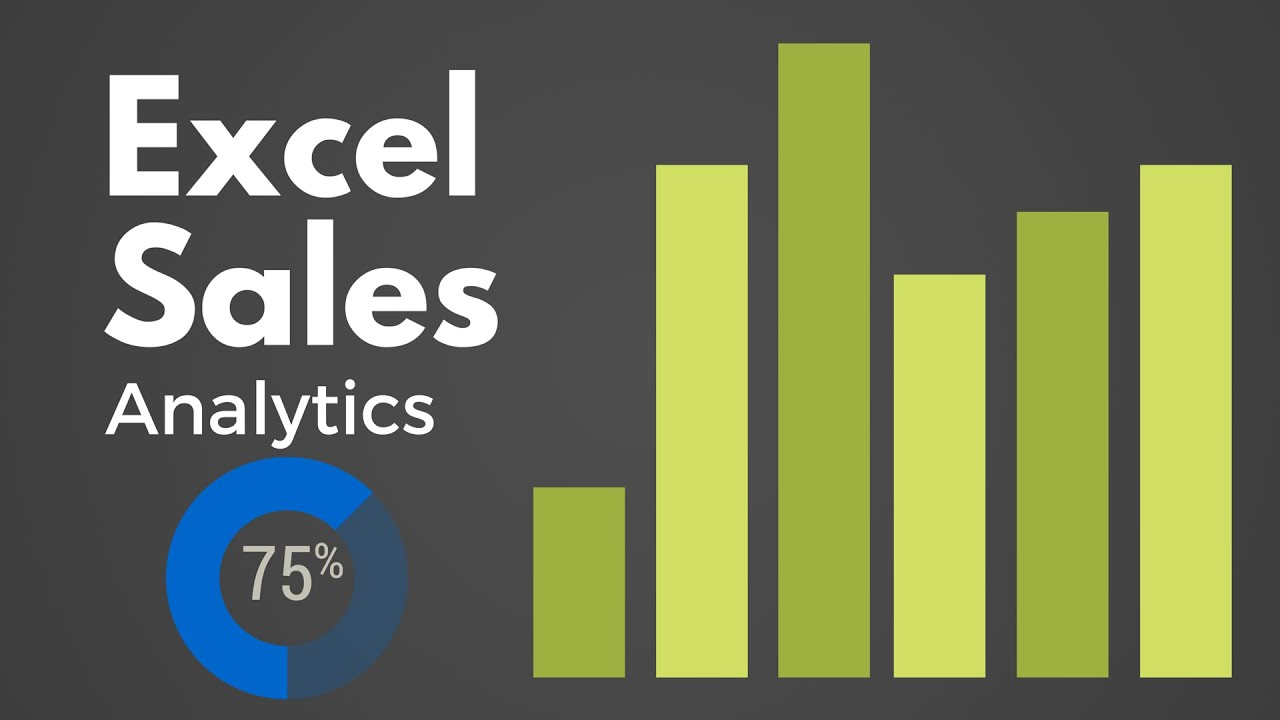 excel sales tracker dashboard free excel dashboards youtube