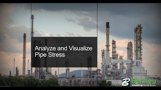 Analyze and Visualize Pipe Stress