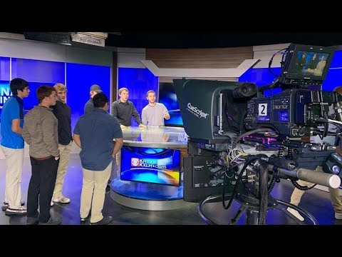 Student From Glasgow Visit KRTV