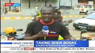 Kisumu introduces taxing boda bodas