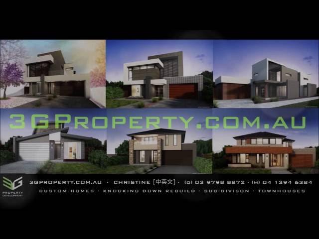 3G Homes: Dual Occupancy Box Hill