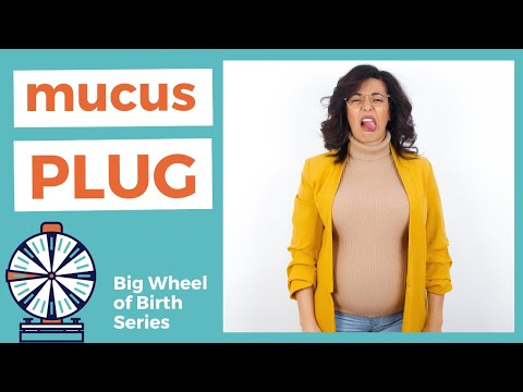MUCOUS PLUG: When the does the mucus plug come out? What is a mucous plug for?