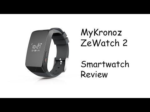 MyKronoz ZeWatch 2 Smartwatch Review