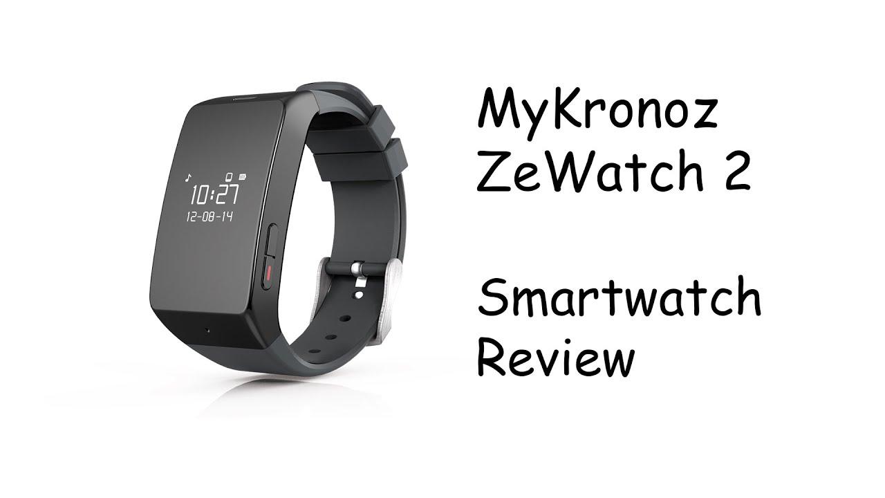 mykronoz zen cirle 2  MyKronoz ZeWatch 2 Smartwatch Review - YouTube