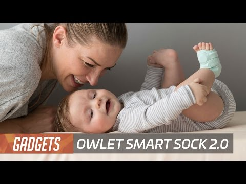 Owlet updates its smart baby health monitoring sock
