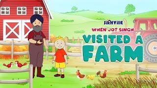 Jot Singh Visit to a Farm