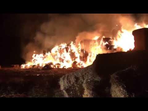 Incendio en La Vellés