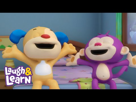 Laugh & Learn™ - Messy Monkey + More Kids Songs And Nursery Rhymes | Learning 123s
