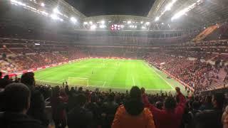 Galatasaray - konyaspor türkiye kupası çeyrek final rövanş maçı ilk üçlü