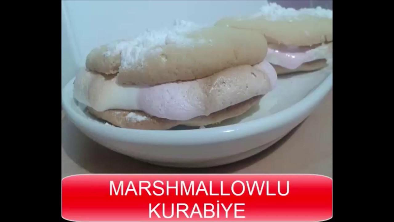MARSHMALLOWLU KURABİYE TARİFİ