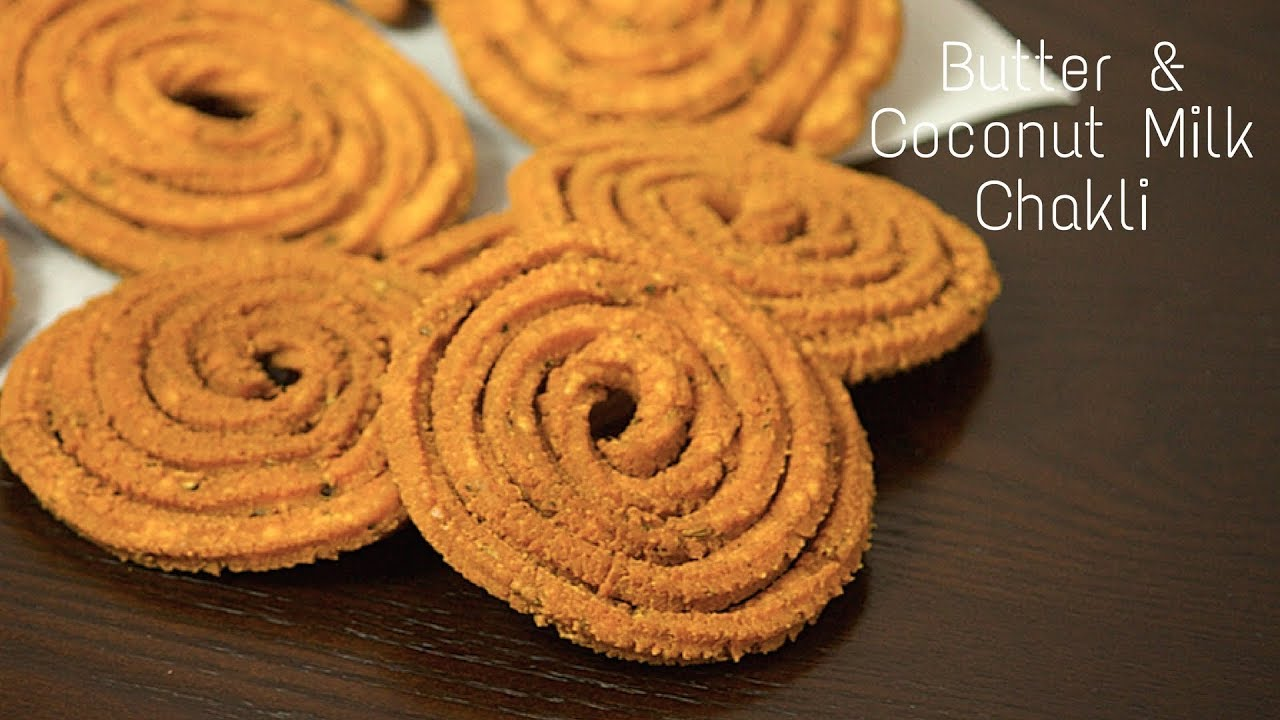 how to make butter chakli