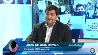 Juan de Dios: El proyecto político de ETA no está derrotado, está en su mejor momento con SÁNCHEZ