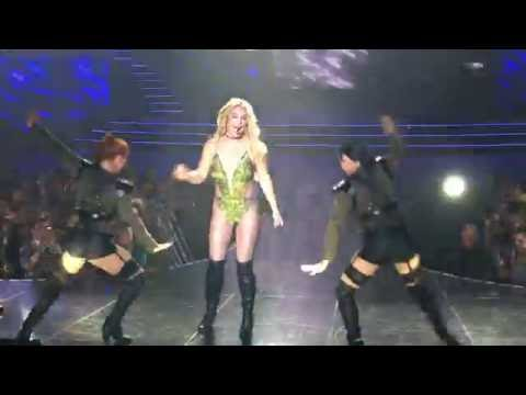 Womanizer | Break the Ice Britney Spears Vegas Front Row at Piece Of Me August 17 2016 Full Hd