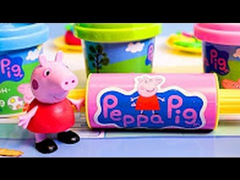 Peppa Pig Doug Set Toy Review - Welcome to Toysandfunnykids!