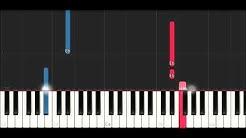 Bts - Crystal Snow (SLOW EASY PIANO TUTORIAL)