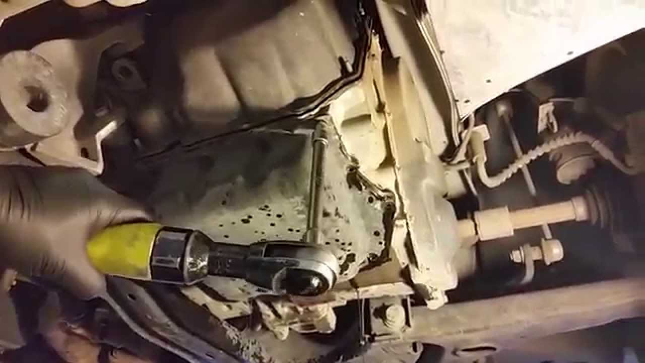 62te transaxle transmission fluid filter change dodge caravan town country routan youtube [ 1280 x 720 Pixel ]