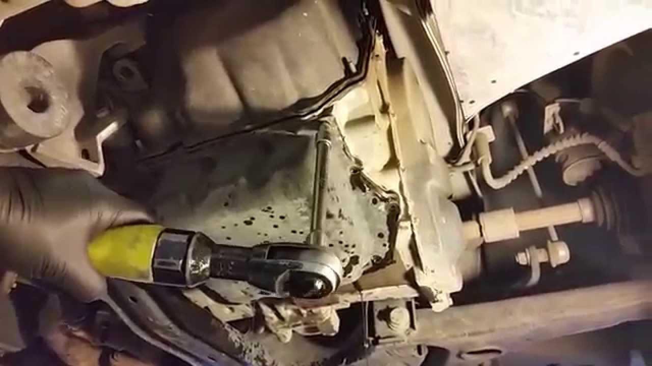 62TE Transaxle Transmission Fluid & Filter Change: Dodge