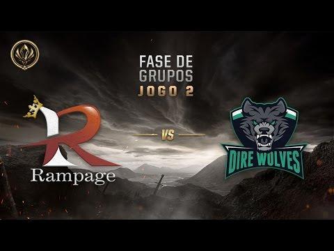 Rampage x Dire Wolves (Fase de Entrada - Dia 3) - MSI 2017