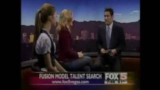 Fusion Model Talent Search on TV Channel Fox 5