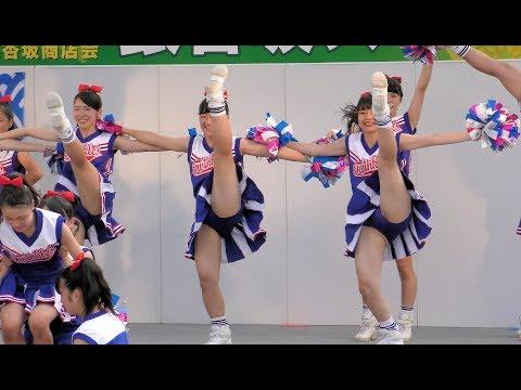 [4K]茨城県立水戸商業高等学校チア・ダンス部「Blue Twinkle's」 第57回水戸黄門まつり銀杏坂ステージ6 ▶1:56