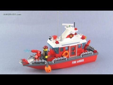 LEGO custom Fire Boat MOC - YouTube