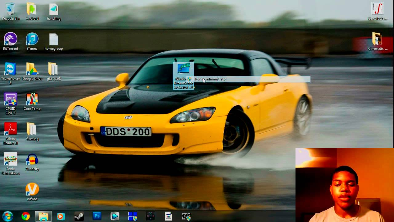 Car Wallpaper For Computer Put On Now How To Put Live Wallpapers On Windows 7 Link Fixed Youtube