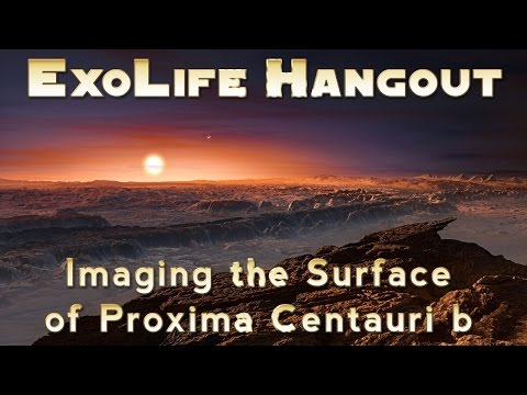 Imaging the Surface of Proxima Centauri b