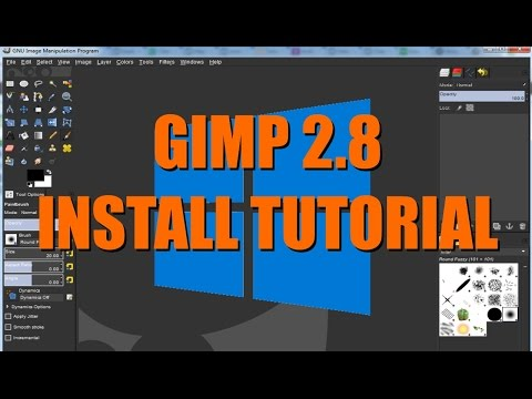 How to download and install Gimp | Free Photo Editing Software Windows10 Tutorial