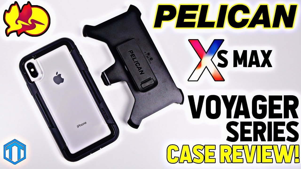 innovative design 4b37b d2206 iPhone Xs Max Pelican Voyager Case Review! Heavy Duty Protection!