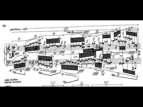 Brian Ferneyhough - Lemma-Icon-Epigram (w/ score) (for piano solo) (1981)