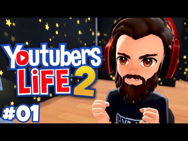 Youtubers Life 2 | INÍCIO de Gameplay | Gameplay em Português PT-BR