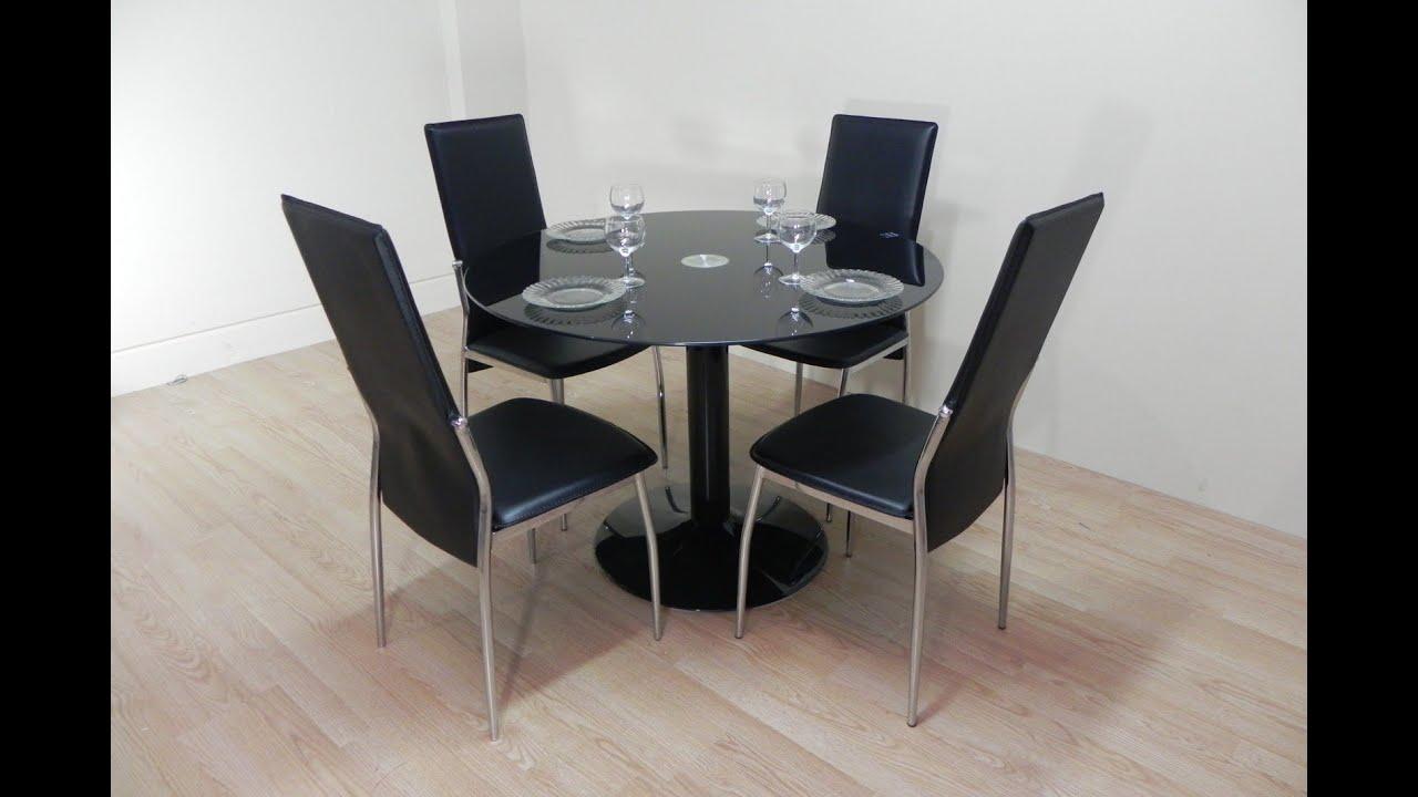 Mesa Redonda Cristal Ikea | Mesa Redonda Cristal Comedor Elegant ...