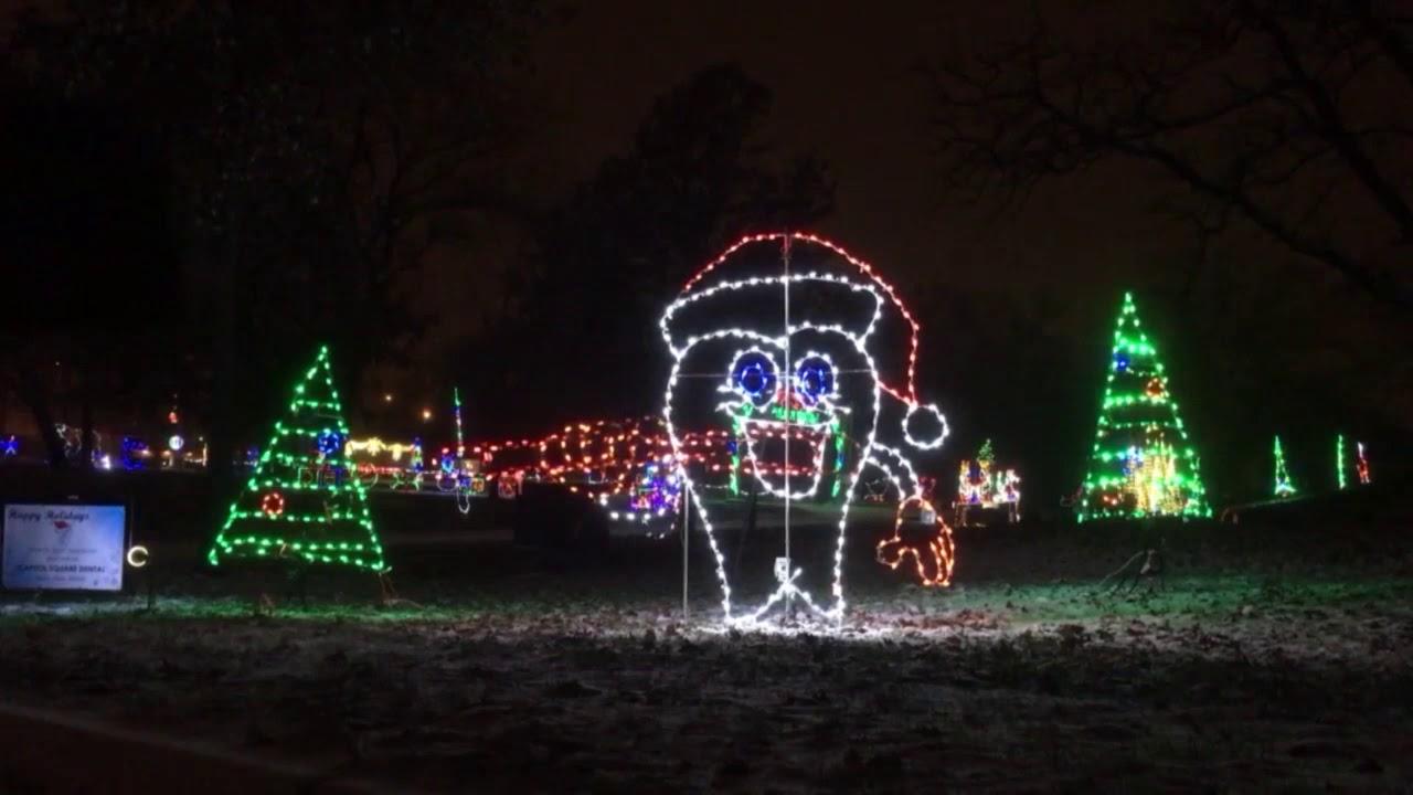 Lights at Madison's Olin Park