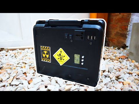 ENERGIA GRATIS con Baterias Recicladas | Power House Solar casero de 154.000mah