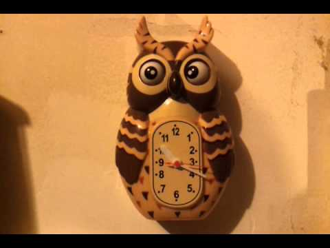 Vintage owl clock not working