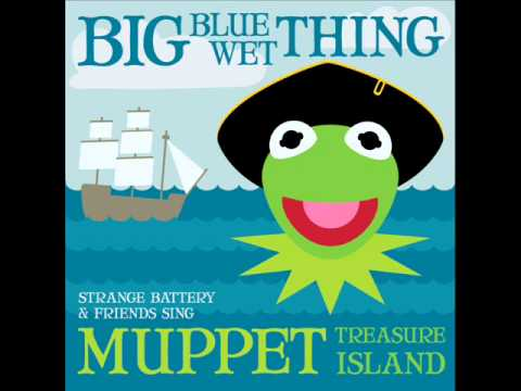 Muppet Treasure Island Big Blue Wet Thing