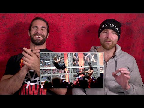 Thumbnail: Seth Rollins and Dean Ambrose rewatch their Hell in a Cell war