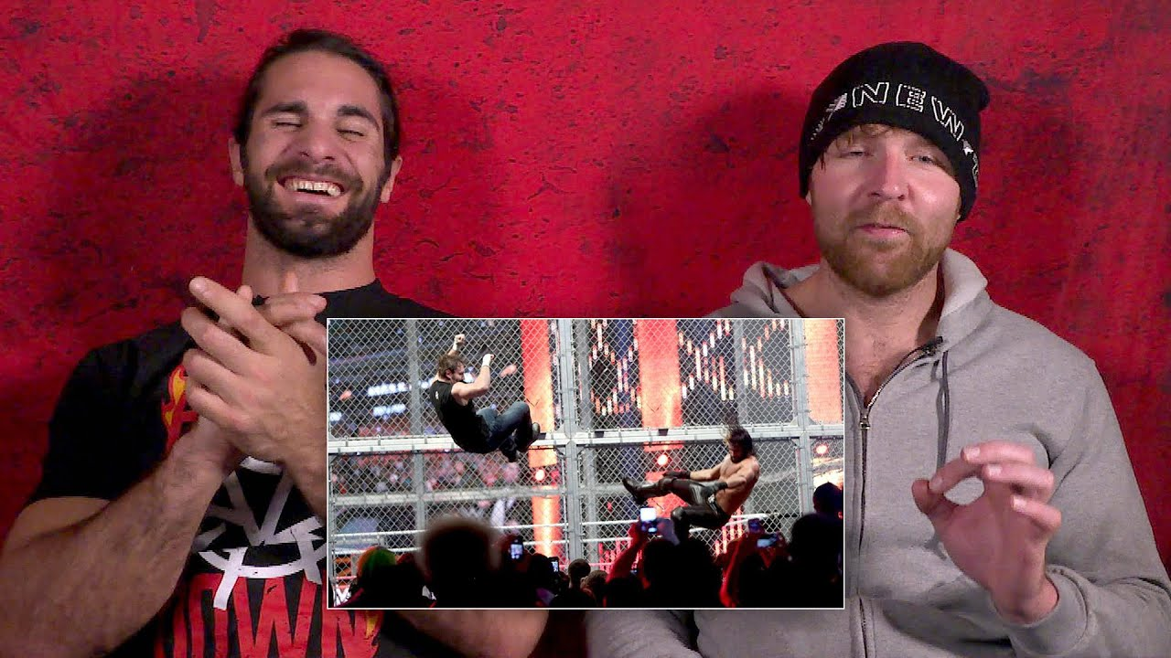 Seth Rollins and Dean Ambrose rewatch their Hell in a Cell war: WWE Playback