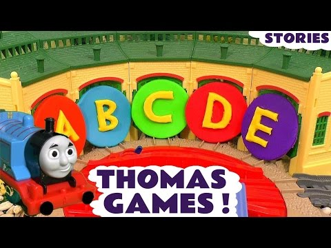 Thomas and Friends Toy Trains Games Learn numbers letters with Play-doh - Have fun with Thomas TT4U